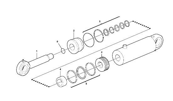 Схема цилиндра
