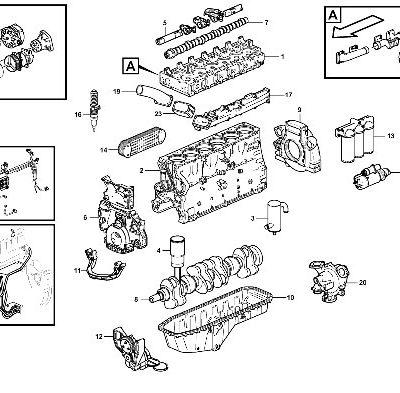 Двигатель для фронтального погрузчика VOLVO