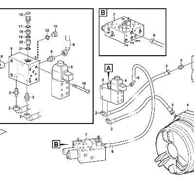 Тормозная система для фронтального погрузчика VOLVO