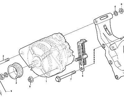Электрическая система для фронтального погрузчика VOLVO