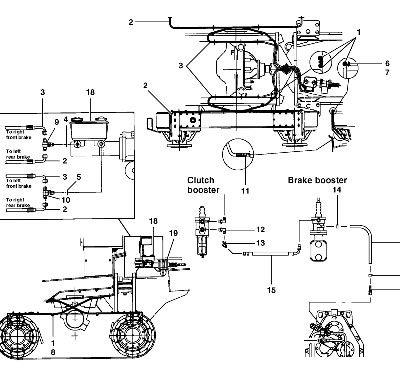 Тормозная система для автогрейдера VOLVO