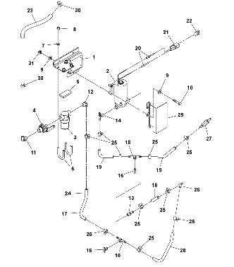 Гидравлическая система для катка Volvo