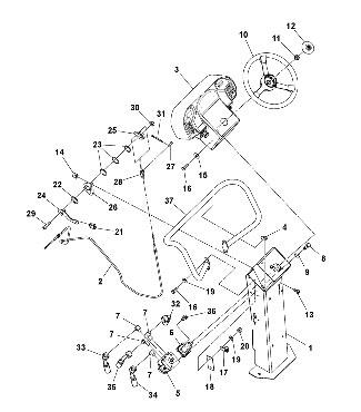 Рулевое управление для катка VOLVO