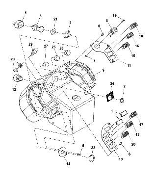 Электрическая система для катка VOLVO