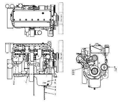 Двигатель для экскаватора VOLVO