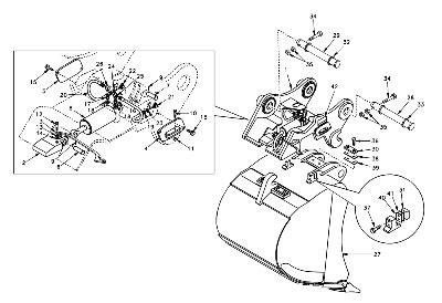 Механическое оборудование для экскаватора VOLVO