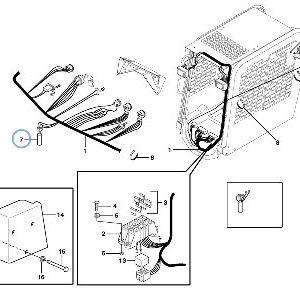 Электрическая система для погрузчика с бортовым поворотом VOLVO