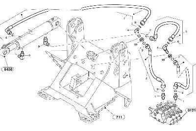 Гидравлическая система для компактного колесного погрузчика VOLVO