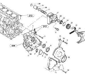Двигатель для компактного колесного погрузчика VOLVO